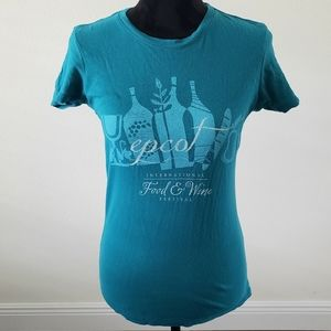 B2G1 Disney Parks Epcot Food & Wine Festival Tee